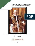 Catecismo Sobre El Modernismo San Pio X