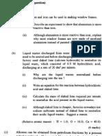 Chemistry 1993 Paper 1