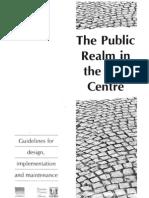 Public Realm in the City Centre