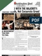 Occupied Washington Post Number 1