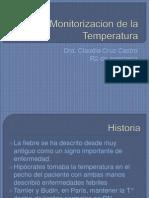Monitorizacion de La Temperatura