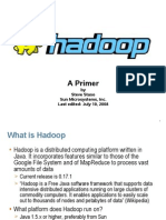 Hadoop Primer