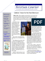 First Christian Courier-October 1, 2011