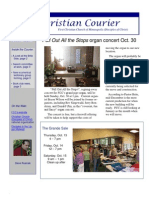 First Christian Courier-October 15, 2011
