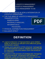 Logistics Management | Logistics | Supply Chain