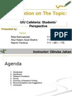Presentation (Composition & Communication Skills)
