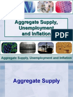 Aggregate Supply, Unemployment and Inflation