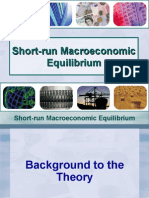 Short-Run Macro Economic Equilibrium