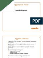 Aggreko Gas Power Presentation - Argentina