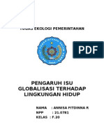 Tugas Ekologi Pemerintahan (Ica Fitdinna)