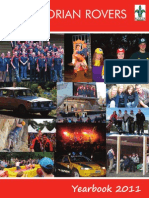 Victorian Rovers - Yearbook 2011