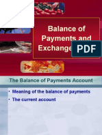 vBalance of Payments and Exchange Rates
