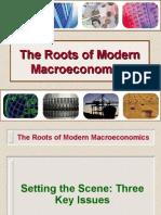 The Roots of Modern Macroeconomics