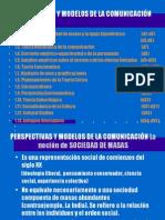 PERSPECTIVAS Y MODELOS CLÁSICOS DE LA COMUNICOLOGÍA