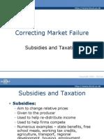 Correcting Market Failure