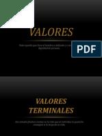 Valores terminalesO