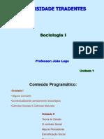 Sociologia I - unidade 1