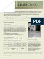 Limestone Material Fact Sheet - Rev020210