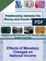 Relationship Between Money and Goods Markets