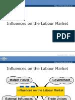 Influences on the Labour Market