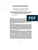 Bio Bleaching in Dissolving Pulp Production