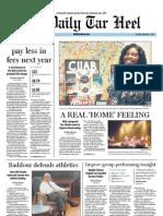 The Daily Tar Heel for November 3, 2011