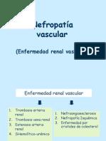 3-11 Nefropatía Vascular
