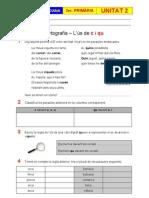 Exercicis Unitat 2 - Ortografia - L'ús de c i qu