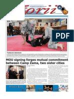 Torii U.S. Army Garrison Japan weekly newspaper, Nov. 3, 2011 edition