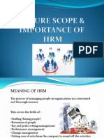 Hcma - Scope & Imp of Hrm-group 3