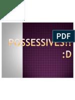 Possessives!!