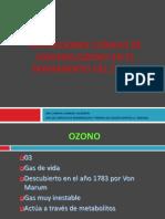 Ozono en el tratamiento del dolor