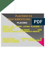 Placebos en Tratamiento Del Dolor