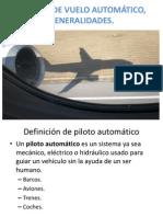 Sistema de Vuelo Automatico Generalidades[1]