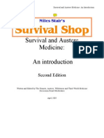 SURVIVAL AND AUSTERE MEDICINE – AN INTRODUCTION – MILES STAIR'S SURVIVAL SHOP