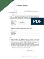 Contoh Surat Usulan Dr Kepala Sekolah