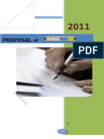 Proposal Haniks Profix Special for Investor 2011