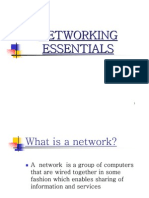 Networking Essentials Pdf Network Switch Computer Network