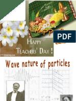 Matter Waves