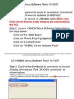 LG VX8800 Venus Software Flash 111607 Store