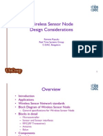 Design Considerations for Wireless Sensor Nodes