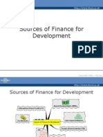 Sources of Finance for Development - Full Version