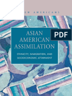 (2) Asian American Assimilation