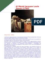 Analisi Dell'Opera Jacques Lois David