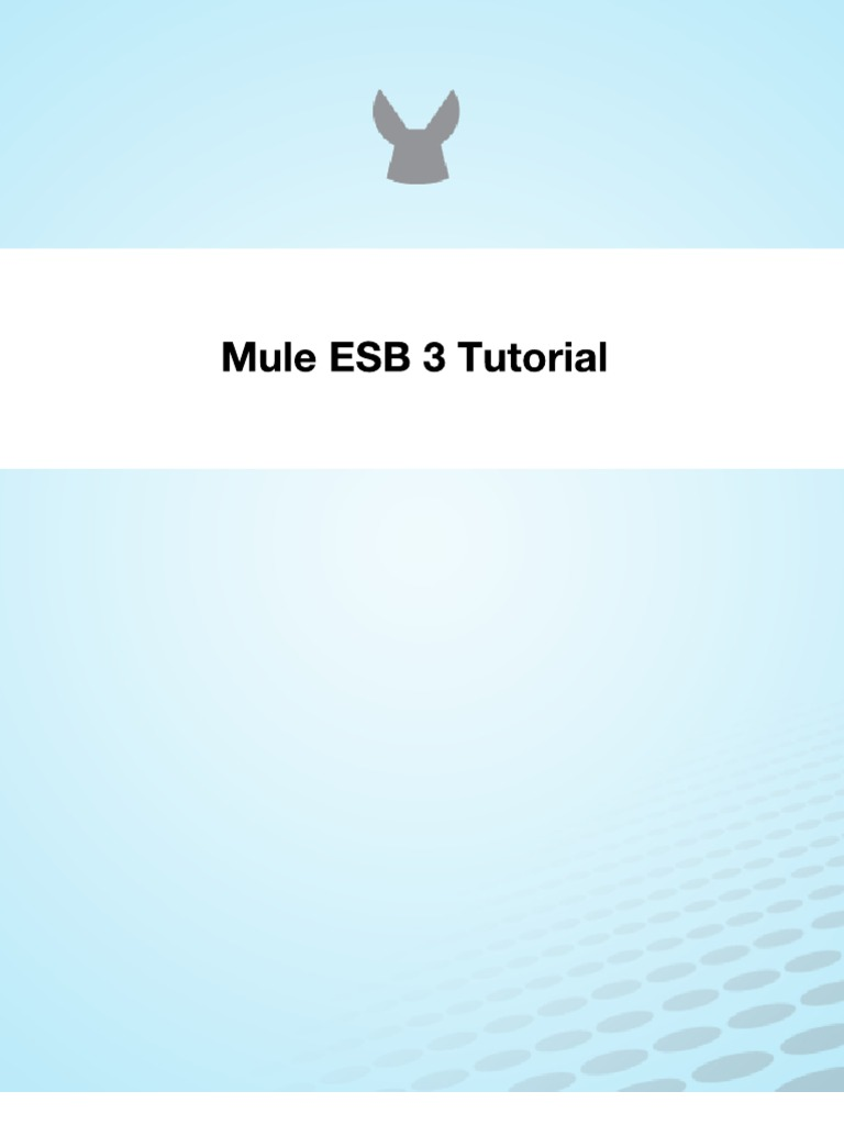 mule esb 3 tutorial | html | areas of computer science