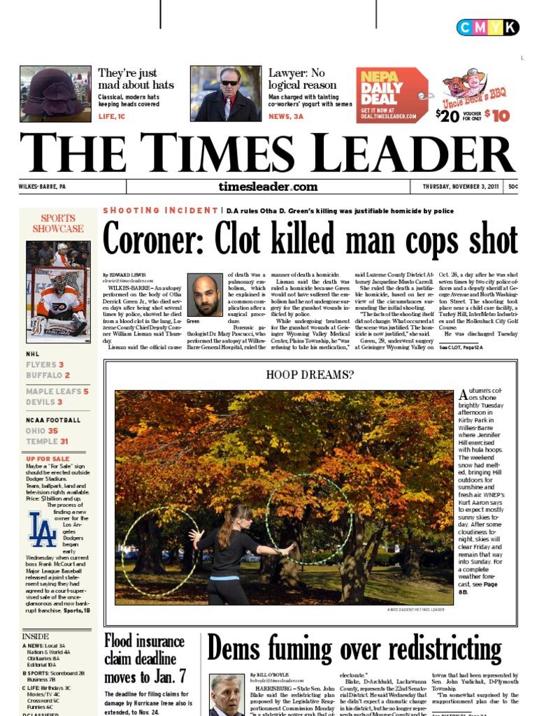 dbb49dab6958 Times Leader 11-03-2011 | Theft (431 views)