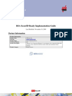 RSA SecurID Ready Implementation Guide-View Connection Server 4 Updated