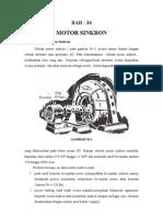 Motor Sinkron