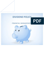 37001150 Dividend Policy Final