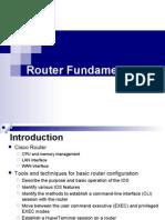 Router Fundamentals